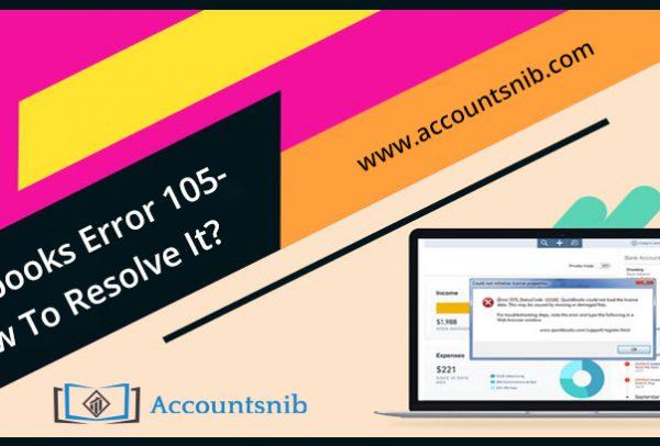 QuickBooks Error 105 - How To Resolve It?