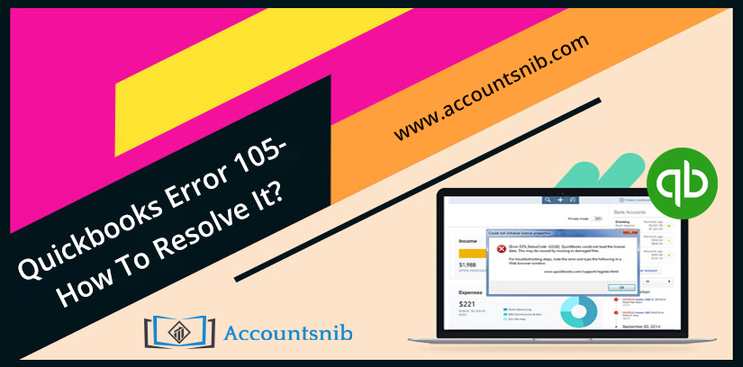 QuickBooks Error 105 - How To Resolve It?