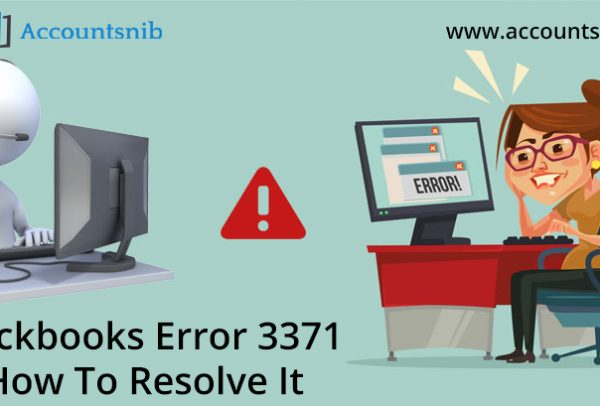 Quickbooks error 3371 - How To Resolve It